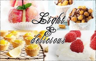 τα γλυκα που αγαπουν τη σιλουετα